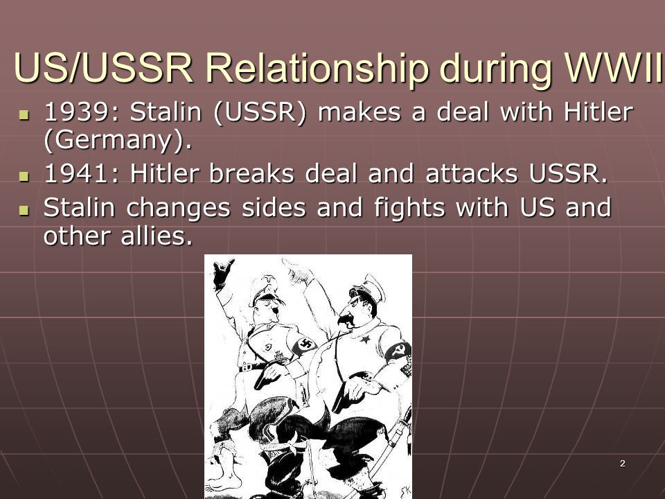 How and why did the Cold War Develop In Europe between 1945-1949 Essay