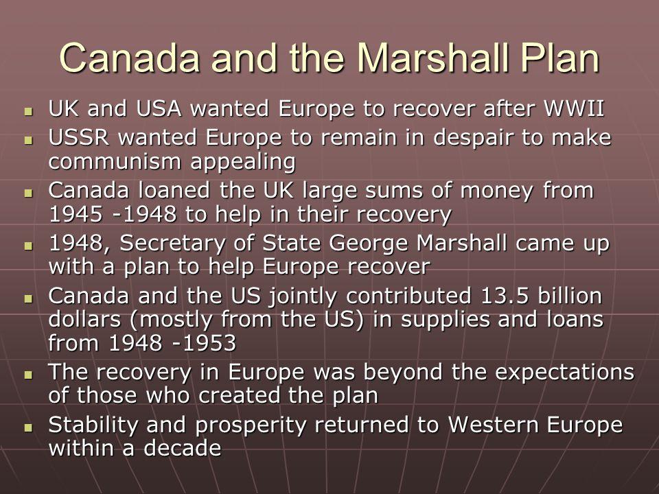 marshall plan uk