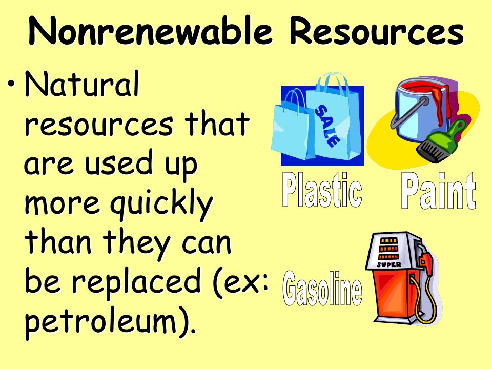 Natural Resources That Are Constantly Recycled Or Replaced