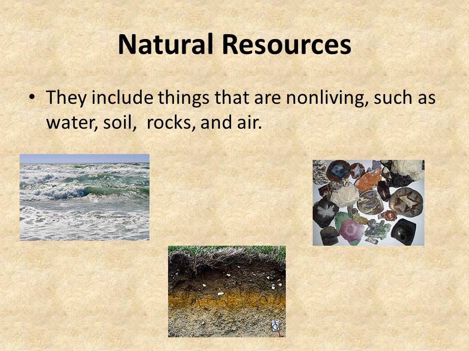 Classifying resources ppt video online download for Things made from soil