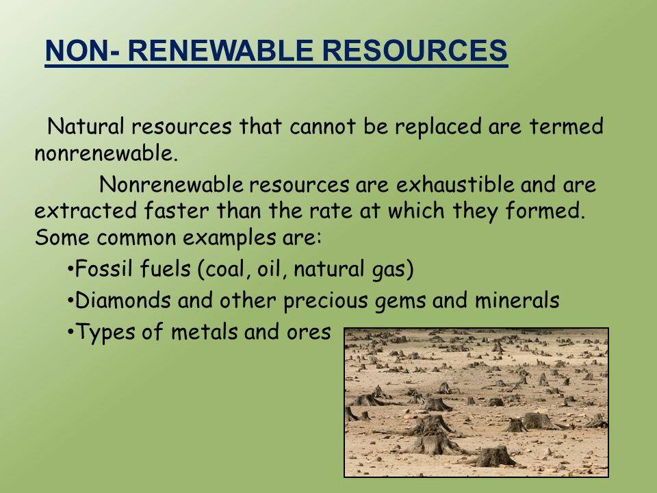 non renewable natural resource in ethiopia
