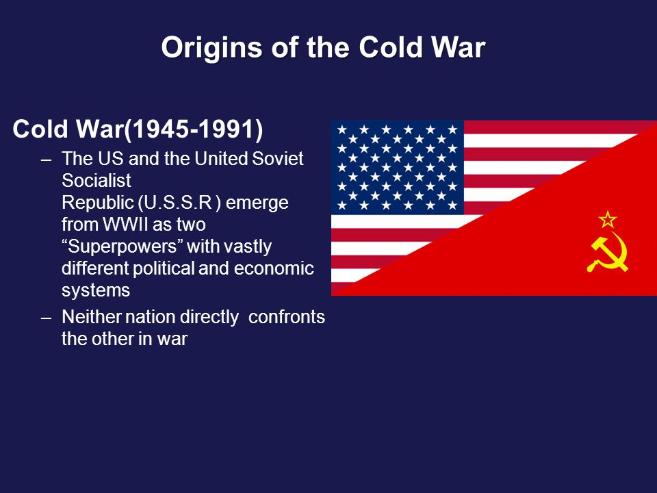 ideologies in motion the soviet war The cold war was an extension of the attitudes among allied forces of wwii, the hot war more accurately, between the us, its allies in europe and the soviet union -- the ussr.