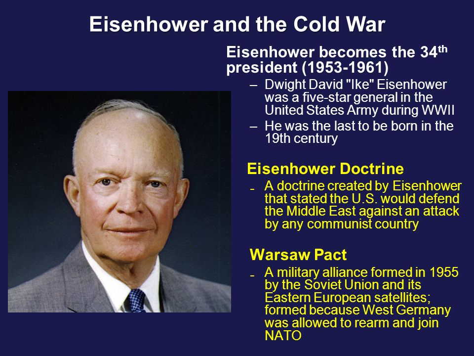 10 Facts About Dwight D. Eisenhower