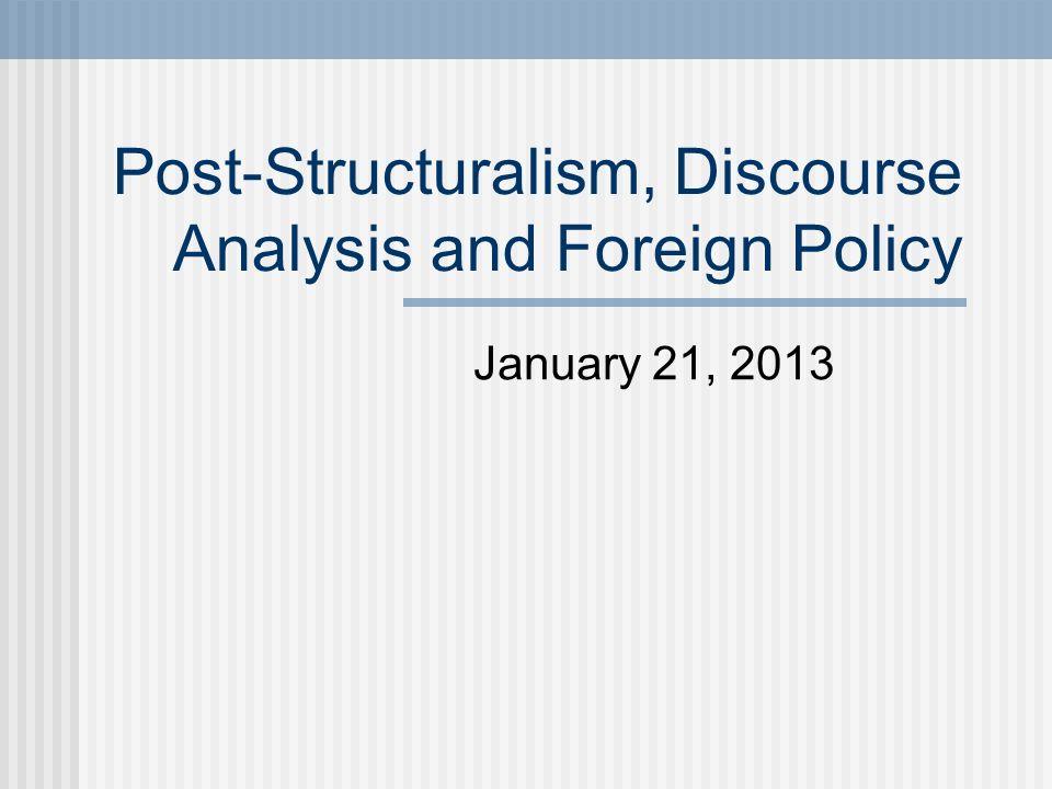 structuralism politics