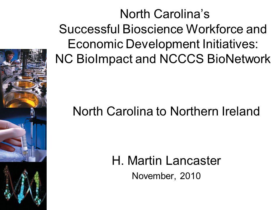 North Carolina to Northern Ireland