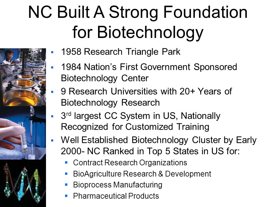NC Built A Strong Foundation