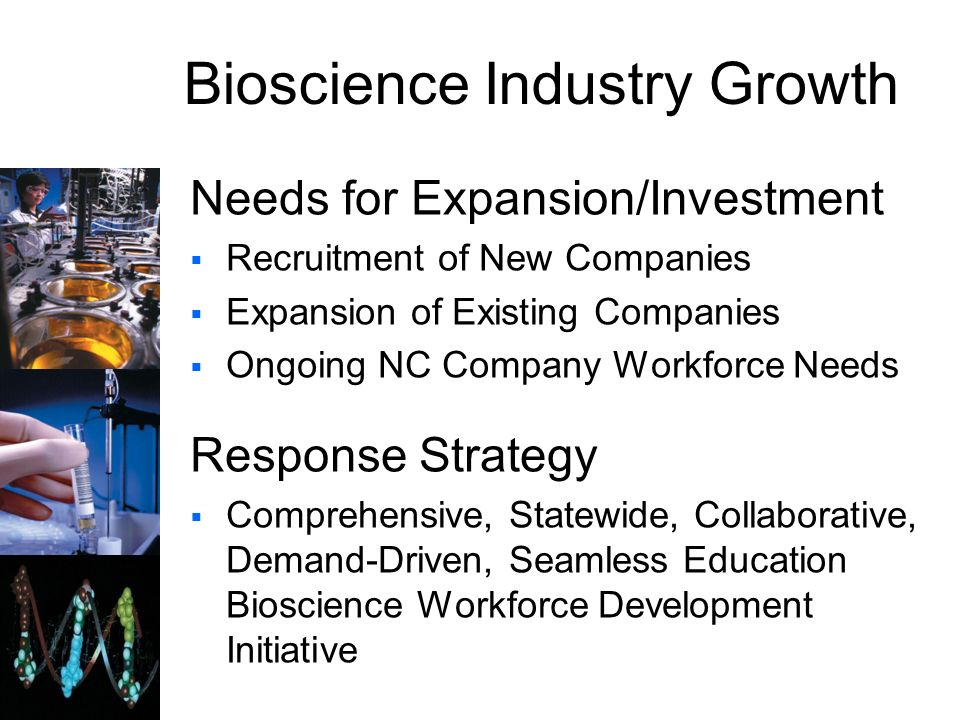 Bioscience Industry Growth