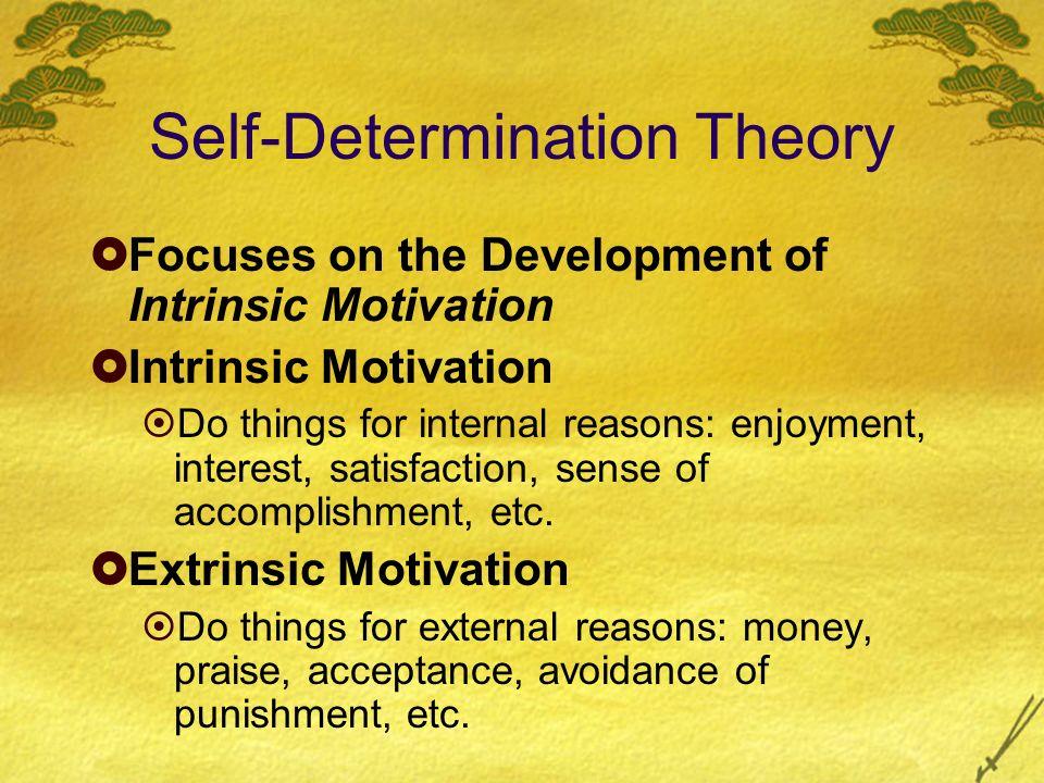 essay on self-determination