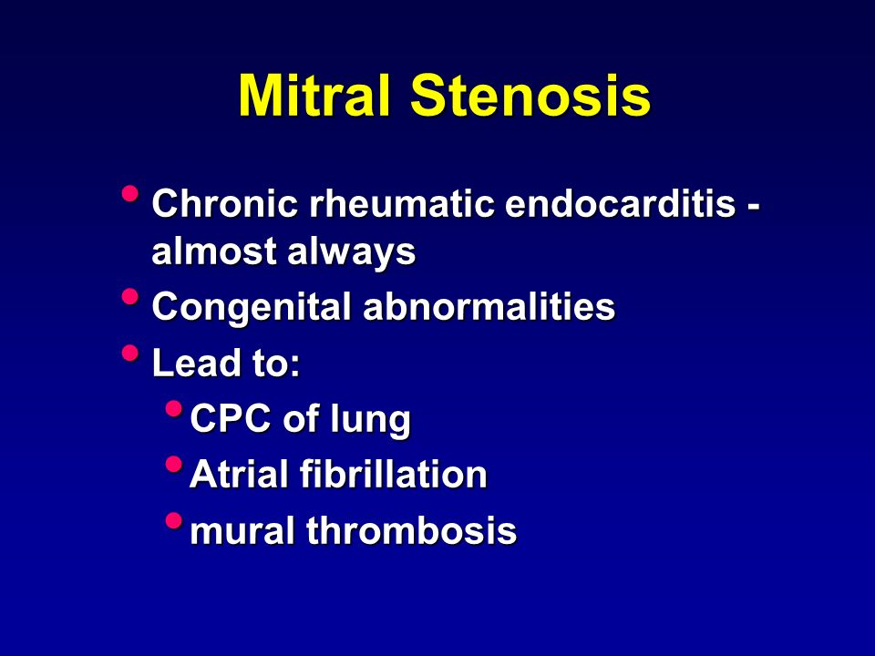 Valvular heart disease ppt video online download for Atrial mural thrombus