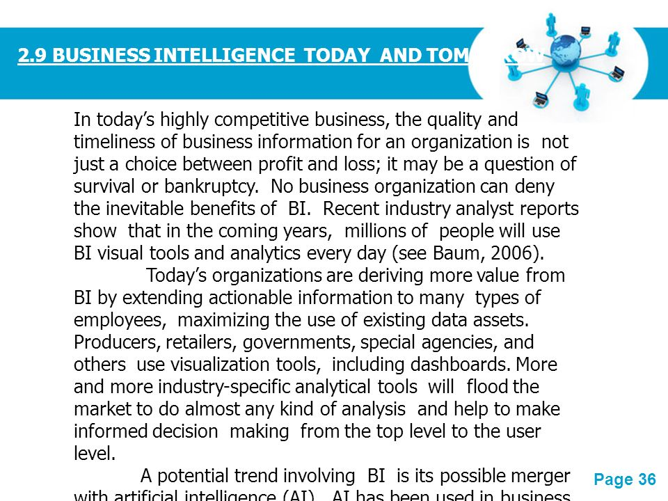 Importance of Business Intelligence in Today's World