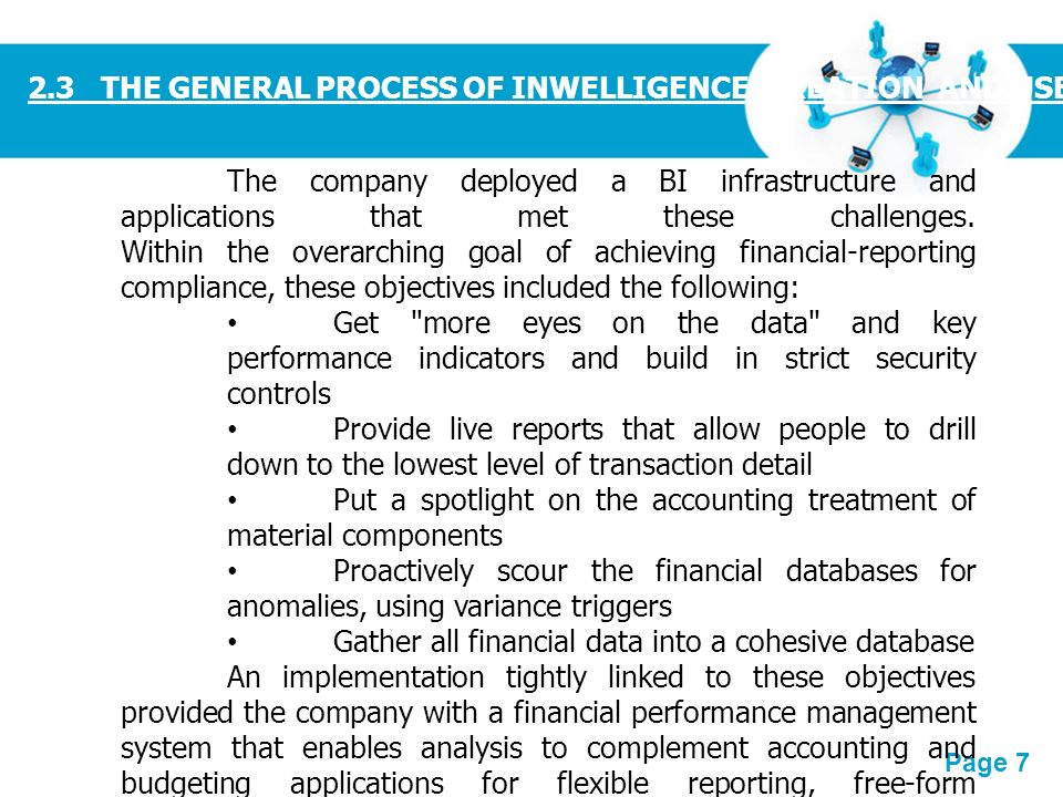 General and specific objectives of automated payroll system