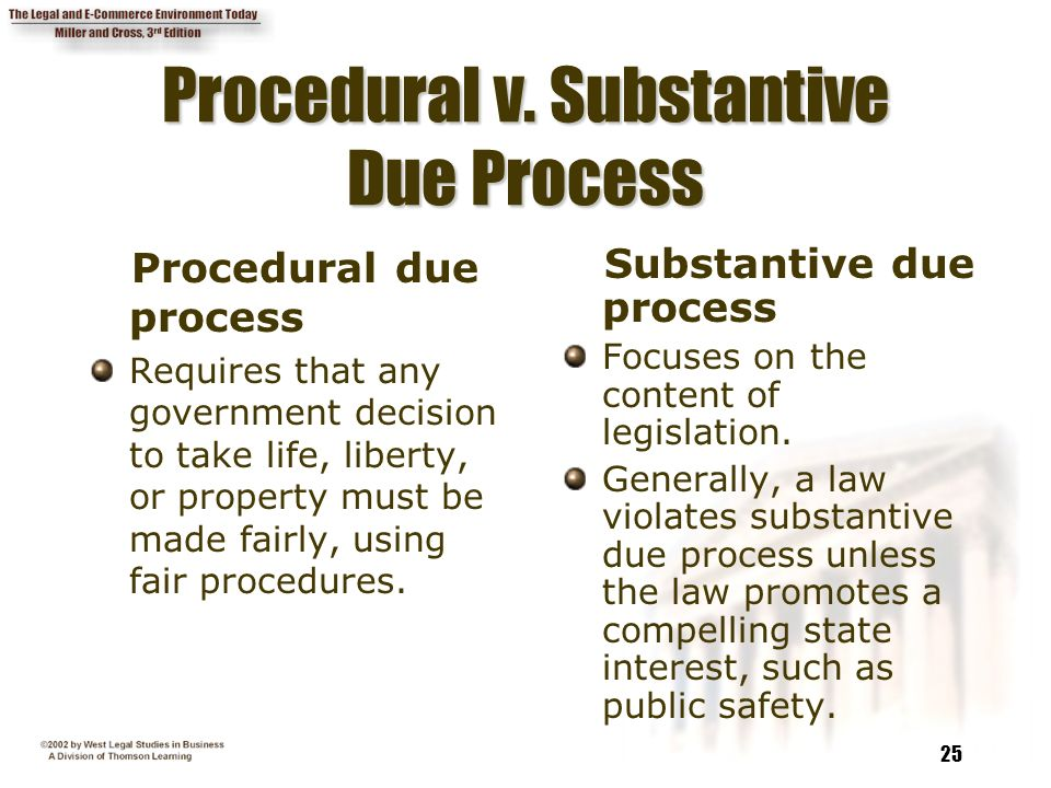 substantive law vs. procedural law essay The wisdom in this essay has indeed become a covert presence in discourse  about  commentators on the importance of procedure in substantive law   law in difficult rules enabling act cases when proceeding in diversity versus  federal.