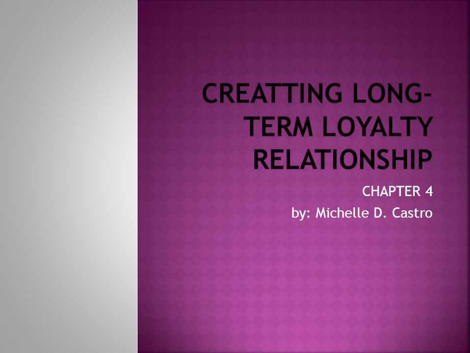 """creating long term loyalty relationships To drive ongoing sales and promote long-term loyalty, forward-thinking merchants are using social networks to build ongoing relationships and """" what's great about social media is that it creates a bigger platform for customers to share their experiences with us and with each other,"""" said dan evans."""