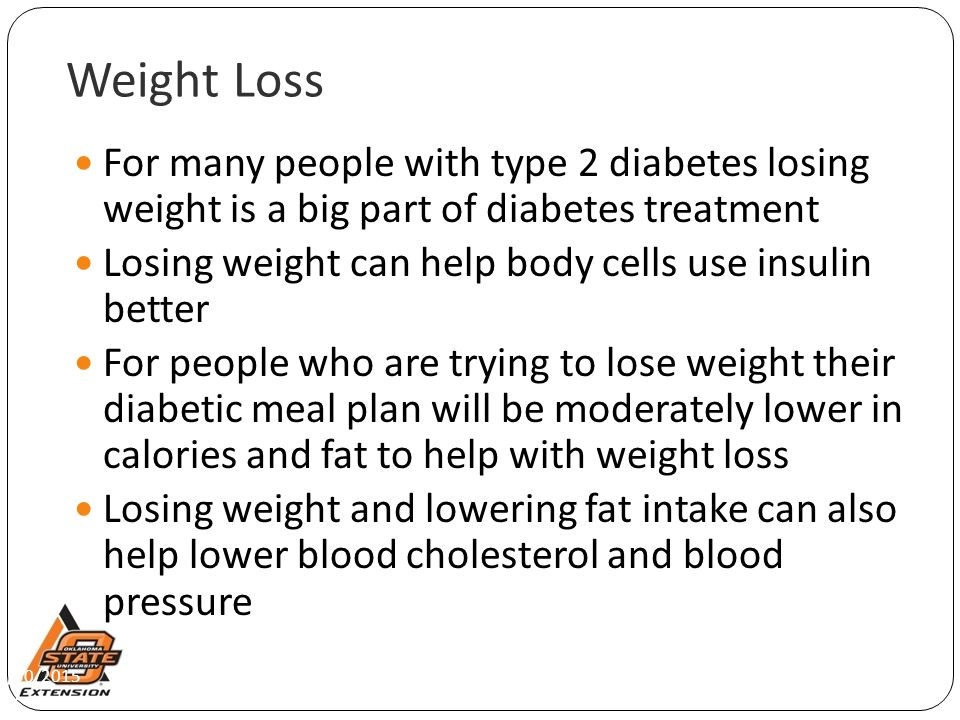 diabetes treatment weight loss