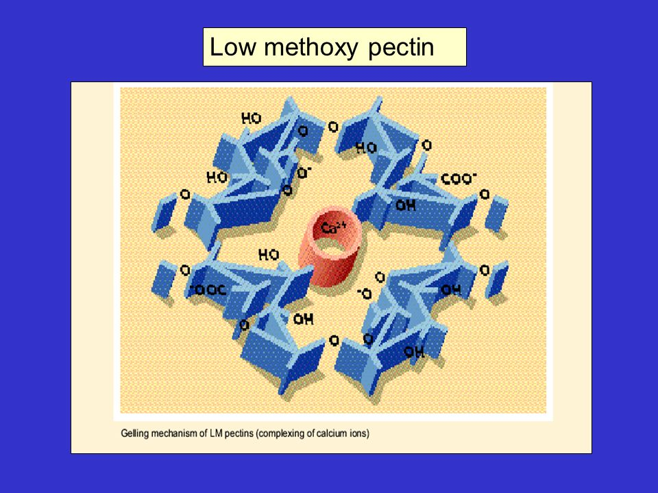 Low methoxy pectin