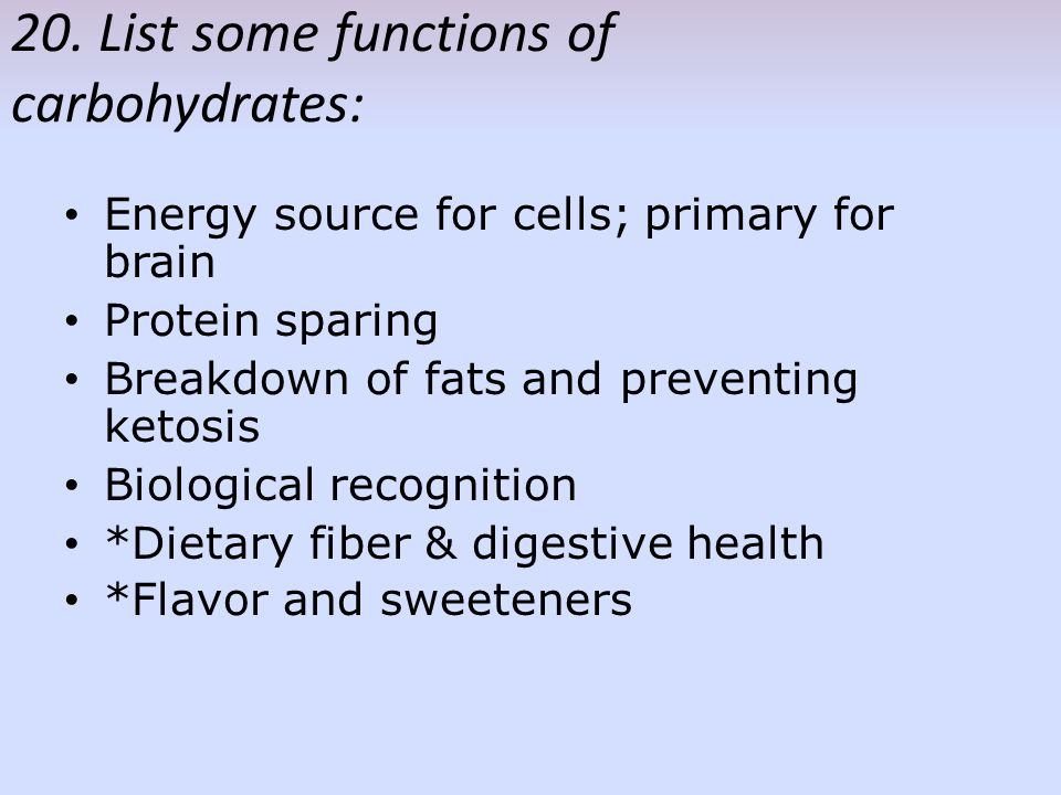 an introduction to the three principal kinds of carbohydrates Carbohydrate metabolism denotes the various biochemical processes responsible for the formation, breakdown, and interconversion of carbohydrates in living organisms.