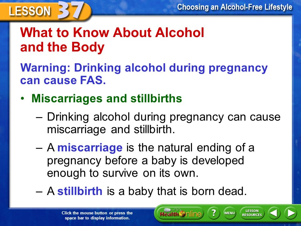 Can Drinking Alcohol During Pregnancy Cause Miscarriage