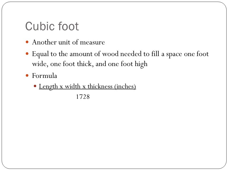 Role of forests in the environment ppt video online download for How to calculate board feet in a tree