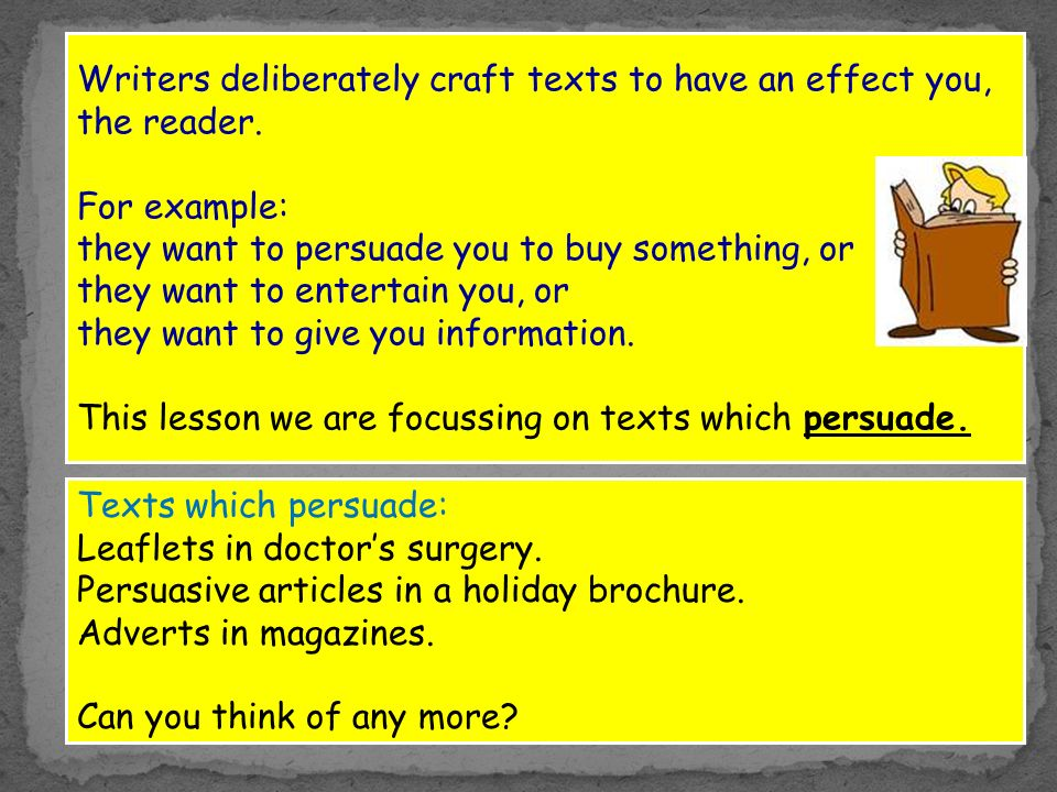 what makes a successful advert ppt  4 writers deliberately
