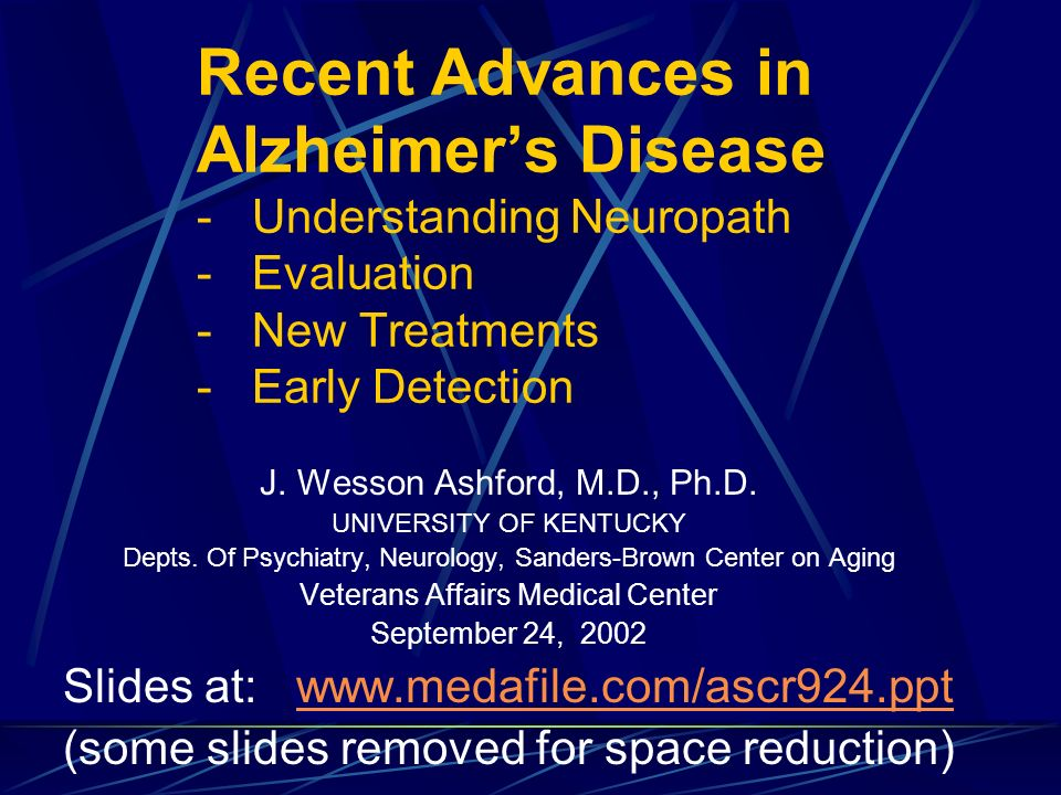recent advances in alzheimers disease understanding neuropath evaluation new treatments early detection