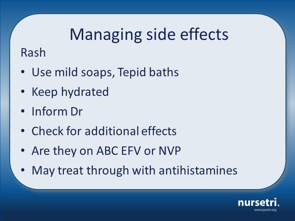 Nevirapine Common Side Effects
