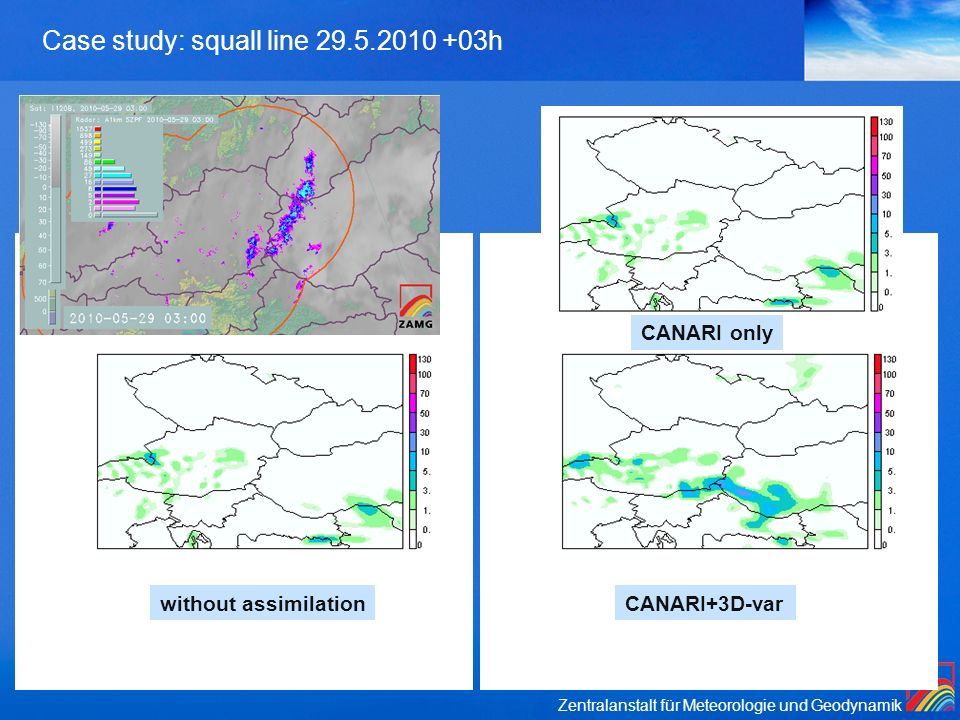 Case study: squall line 29.5.2010 +03h