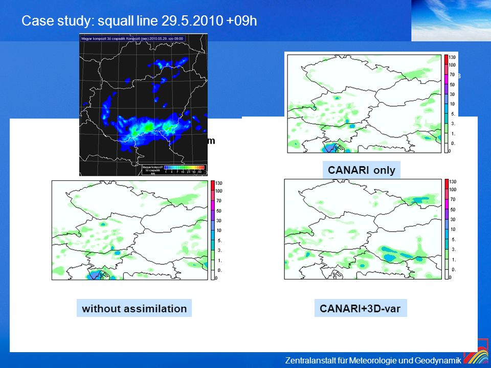 Case study: squall line 29.5.2010 +09h