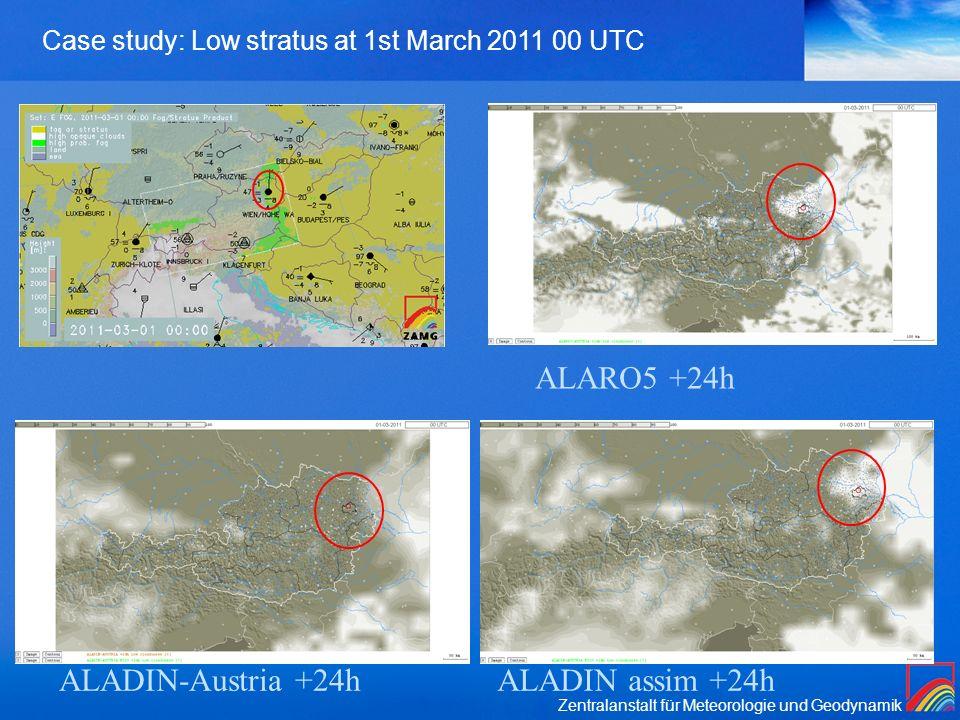 ALARO5 +24h ALADIN-Austria +24h ALADIN assim +24h