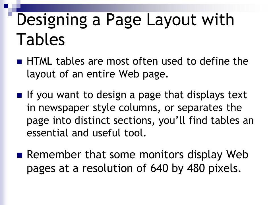 web page designing using html pdf