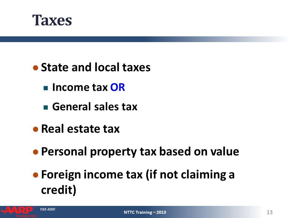 City Sales Tax Credit Property Taxes