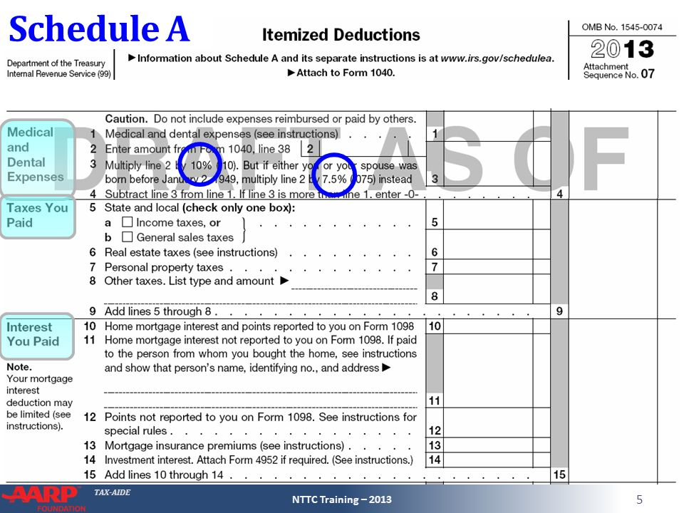 Itemized Deductions Tax Computation ppt download – Itemized Deductions Worksheet 2013