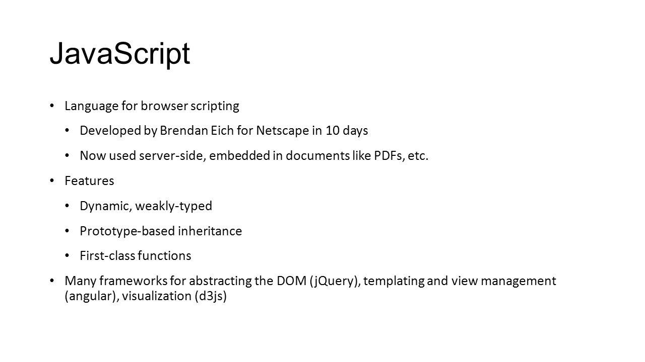 Großzügig Javascript Vorlage Beispiel Fotos - Entry Level Resume ...
