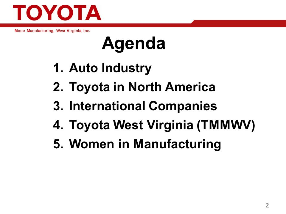 toyota multinational corporation Toyota motor corporation, based in japan, is one of the world's largest  automotive manufacturers in 2014, the multinational corporation employed over  338,000.