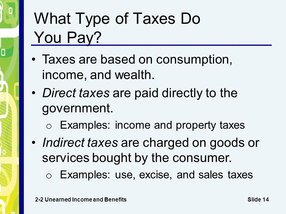 Do states pay federal taxes - answers.com
