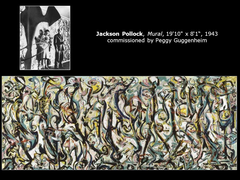 Syllabus quiz note there s no quiz on thursday ppt for Mural 1943 by jackson pollock