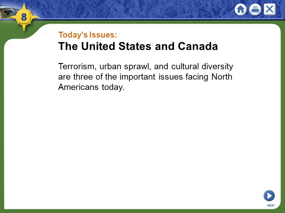The United States and Canada
