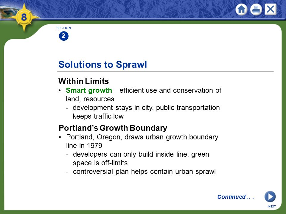 Solutions to Sprawl Within Limits Portland's Growth Boundary