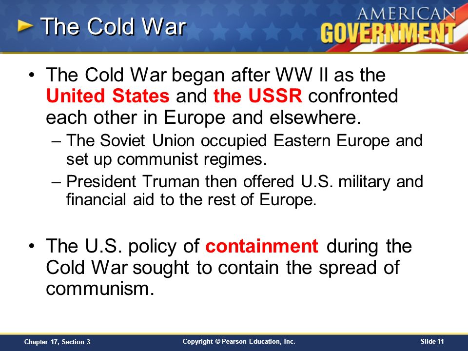 an analysis of the united states foreign policy during the cold war The library of congress exhibitions revelations from the russian archives , brought them to the brink of war the united states government central committee continued to use communist parties from other nations as instruments of soviet foreign policy each national.