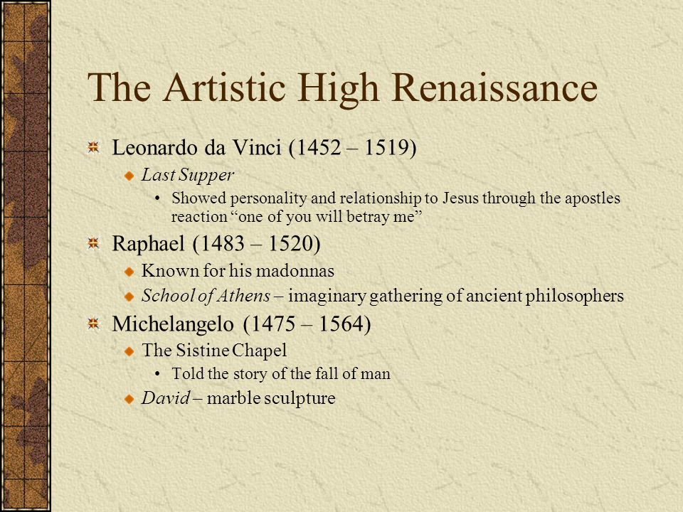 leonardo da vinci and raphael relationship