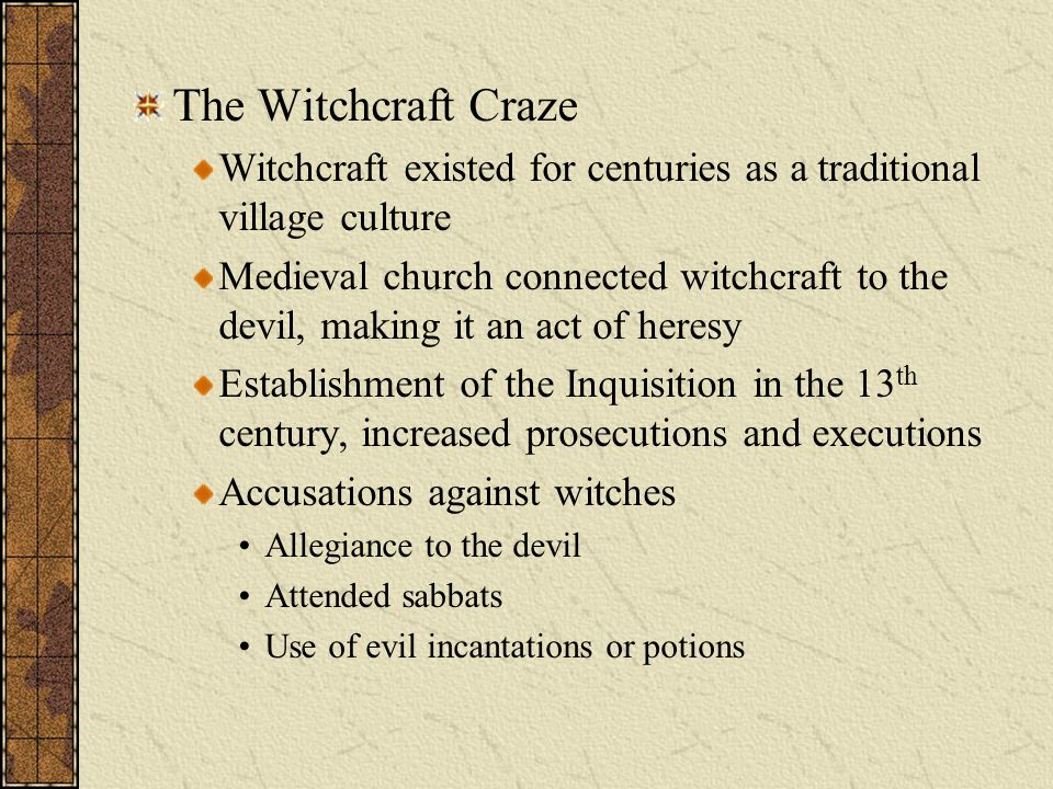 17th century european witch craze history essay Free essay: the rise of the witchcraft craze in 17th century britain accusations of witchcraft date back to 900 ad, but killing following accusation reached.