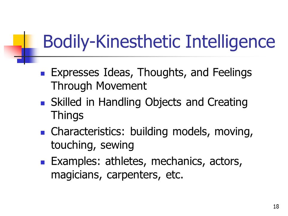Bodily Kinesthetic Intelligence Related Keywords Suggestions