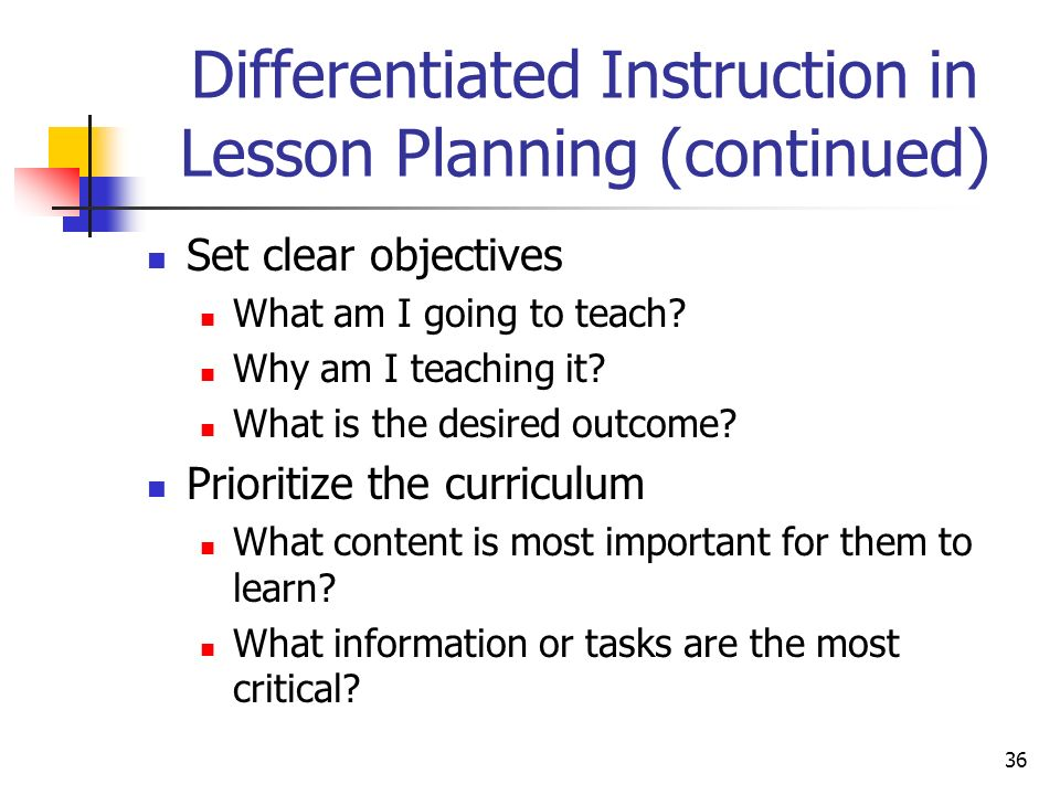 differentiated instruction is necessary to meet the What is differentiated instruction page 1: defining differentiated instruction mr shelton learns that differentiated instruction is an approach whereby teachers adjust their curriculum and instruction to maximize the learning of all students: average learners, english language learners, struggling students, students with learning disabilities, and gifted and talented students.