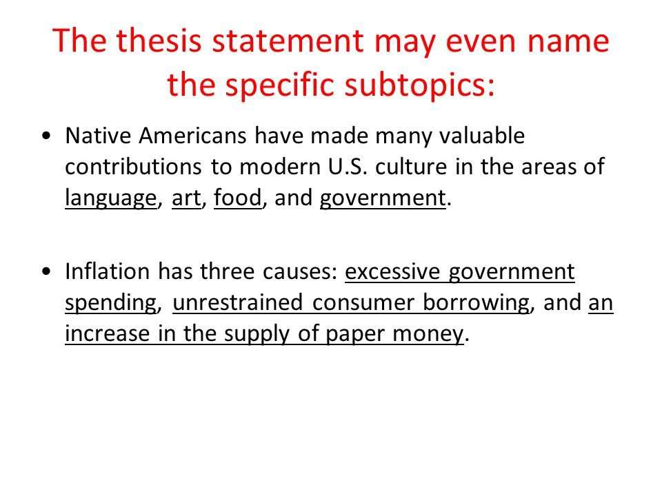 thesis on government expenditure Economic theory and econometric evidence support the thesis that the  displacement of government expenditures on public goods by subsidies to  private goods.