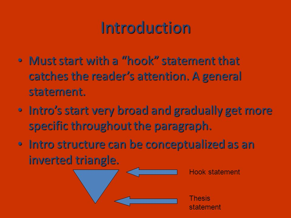 video game essay hook Surprise your listeners with a hook that immediately grabs their attention the key is to make sure that the hook is brief, well-rehearsed and pertinent to your topic.
