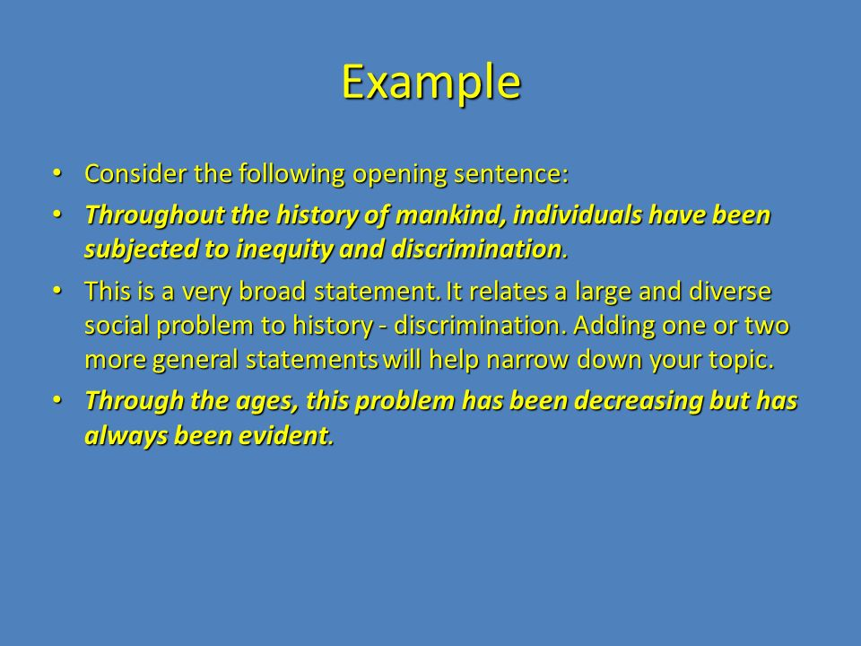 social problems essay example Looking for free examples of social issues essays or research need professional help writing your social issues essay or research cause problems with health.