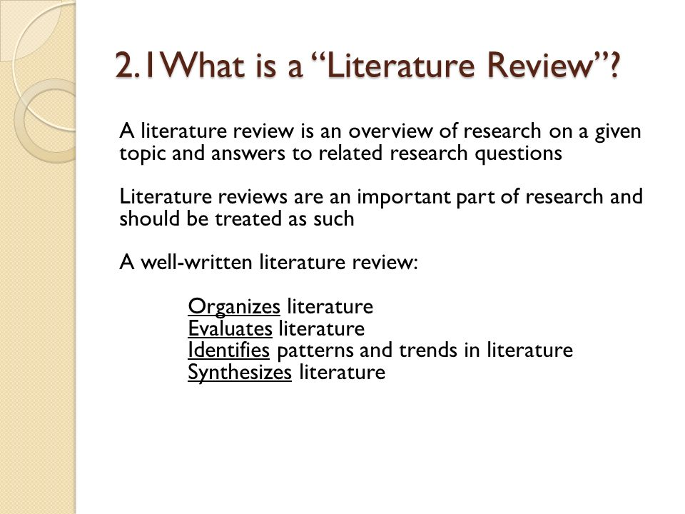 chapter 2 on related studies It did find an association, a central point of your research paper this chapter represents the review on related literature and studies regarding topic about the.