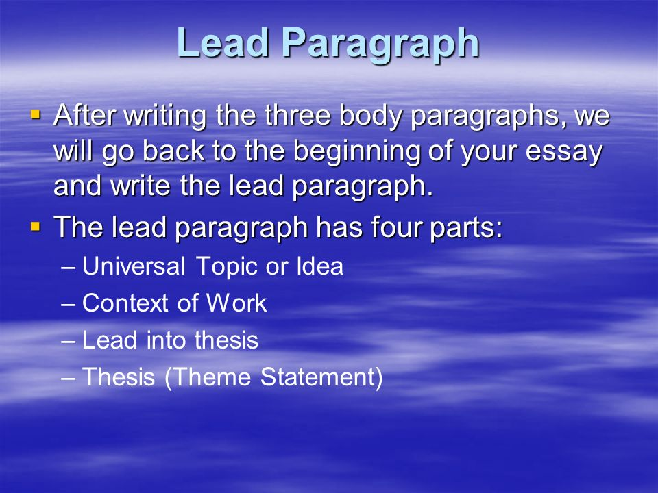 we will write your essay uk Need to write an essay or a general paper order papers from on time professional academic writing services essay4today we do much work for less money just place an order and control the.