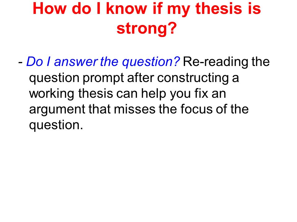what does a working thesis do This handout describes what a thesis statement is, how thesis statements work in your writing,  when reviewing your first draft and its working thesis,.