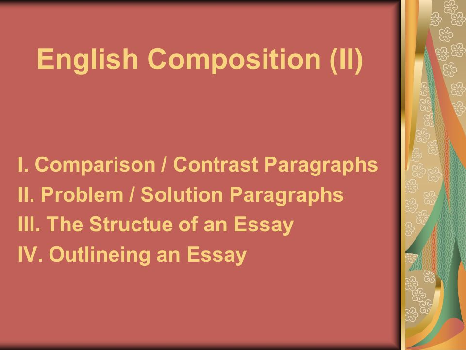 English Composition Ii  Ppt Download English Composition Ii