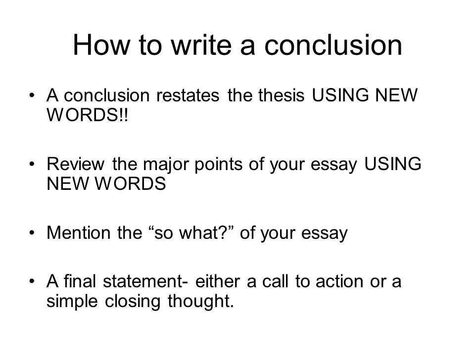 personal statement conclusion examples